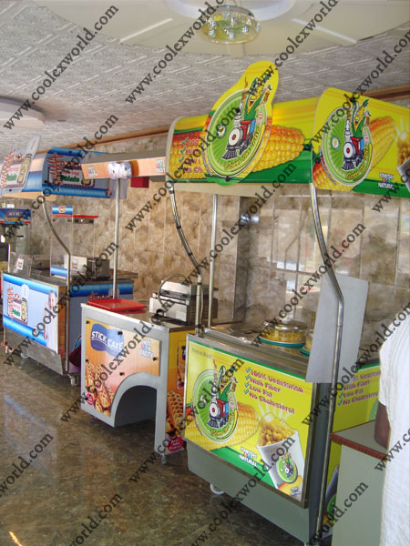 Coolex Industries suppliers 3feet sweetcorn machines with ...
